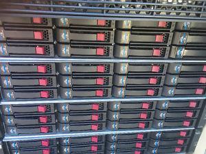 HP MSA-inch Dual I/O 12 Drive