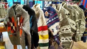 Hand Knitted Native Indian wool sweaters - $90