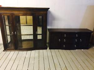 Hutch and buffet set brand new in box only for $650