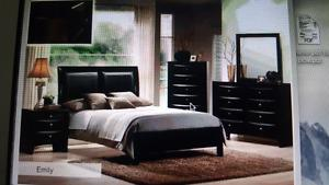 King size Expresso 7 pieces bedroom set brand new only for