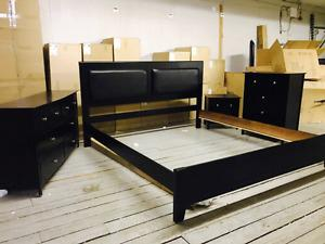 King size Expresso 7 pieces bedroom set in box only $949