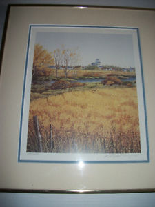 Large Framed Henry Ripplinger Limited Edition Prairie