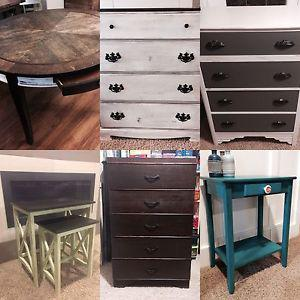 Last day: online auction... rustic furniture and decor