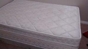 Queen mattresses and box spring