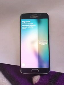Selling 64gb samsung galaxy s6 edge in mint condition.