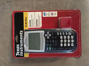 TI-84 Graphing Calculator: New Never Used Never Opened