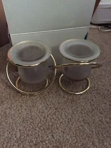 Various Partylite votive/tealight/tapers candle holders for