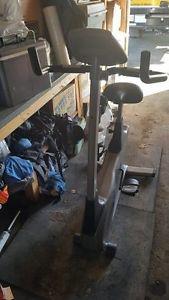 Vision fitness upright exercise bike- $450 OBO