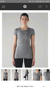 Wanted: Looking for lululemon swiftly tech T shirt size