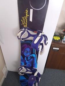 2 snowboard set ups.. waxed and sharpened this year.