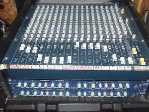 Allen & Heath Mix Wizard 16:2 Sound Board and Rack Gear