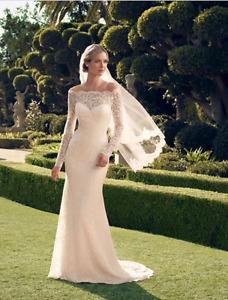 Beautiful Casablanca wedding dress size