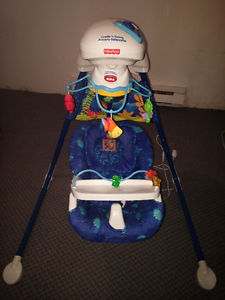 Fisher Price Plug in & Battery Cradle