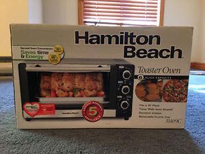 Hamilton Beach 6 slice Toater Oven