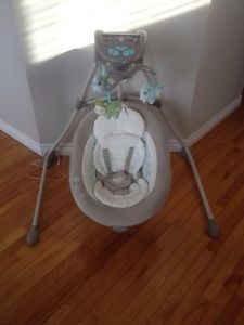 Ingenuity InLighten Cradle Swing $100