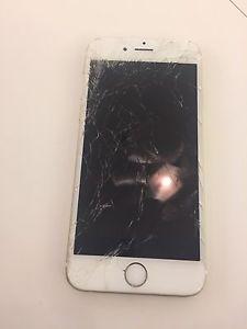 Iphone 6 with broken screen