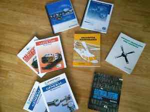Lot of Jeppesen Aircraft Maintenance textbooks for A&Ps