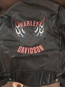 Men's Harley Davidson ex large leather jacket
