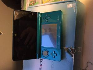 Nintendo 3ds still in box and 4 games