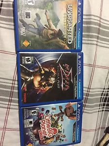 PS Vita with Games and SD