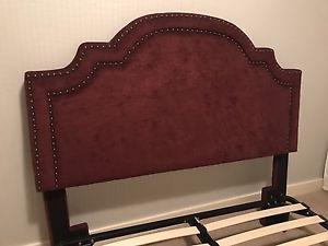 Queen fabric headboard - west kelowna