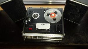 "Reel to Reel, Sony ""Stereo Center 230"""