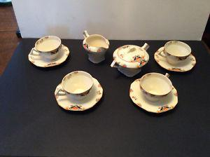Vintage porcelain and China