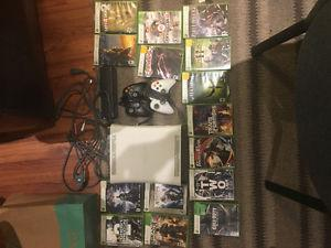 XBOX 360 perfect condition with 2 controllers and 15 games
