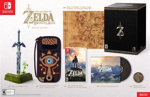 Zelda Breath of the wild Master Edition Nintendo Switch