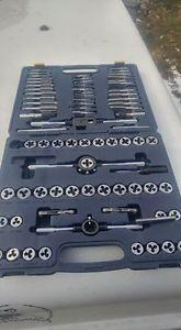 brand new 76 pc mastercraft tap and die set