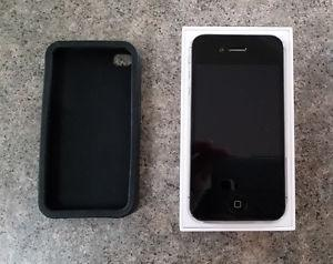 iPhone 4s Black, in mint condition with Telus/Koodo.