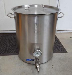 15 gallon Tall Boy homebrewing kettle pot