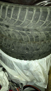 Brand new tires in good condition