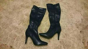 Brand new woman high heels boots size 6