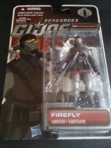 GI Joe 30th Anniversary Renegades Firefly