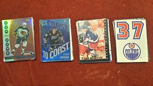 Hockey card lots