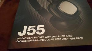 JBL J55 High-Performance On-Ear Headphones with JBL Drivers