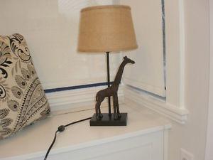 Lamp - giraffe