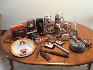 Large group of Antiques