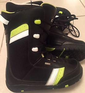 Like New Men's Sz.10 RIDE IDOL Snowboard Boots
