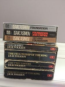 Lord of the rings and Foundation box sets