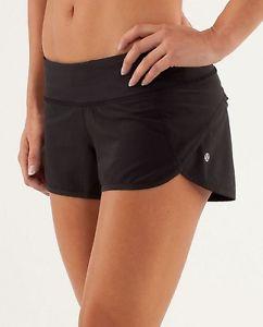 Lululemon Black speed shorts size 4