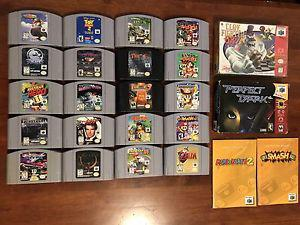 N64 Games for Sale or Trade