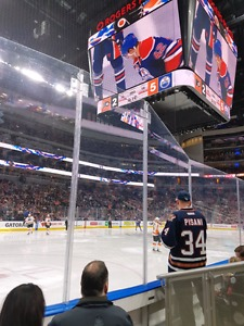 Oilers Row 3 tickets
