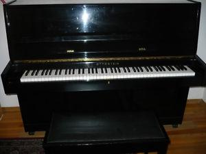 Ottostein Upright Piano with 3 Pedals for sale.