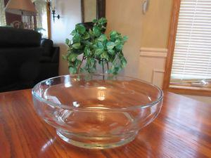 Princess House Heritage Crystal Serving Bowl, Dessert Bowls