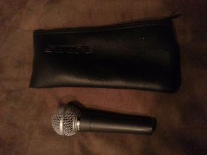 Shure SM58 Microphone With Case
