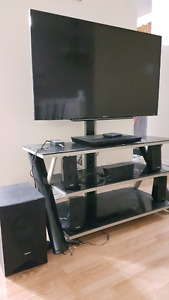 TV+ TV stand+Home Theater+i-view Intel cyber PC