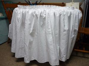 """Table Shirt Pleated For Reception Table(Size 12 feet x 5"""""""