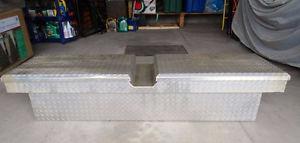 UWS ALUMINUM TRUCK TOOL BOX / CARGO STORAGE